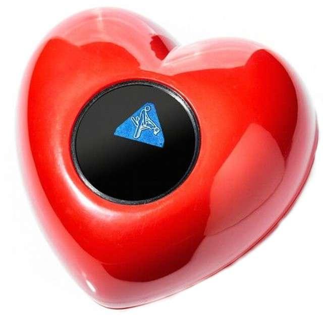 """Serce """"Sex pozycje"""", czerwone, GadgetMaster"""