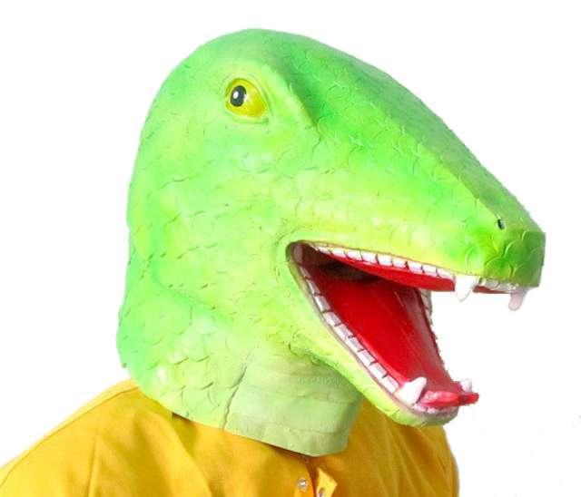 """Maska """"Dinozaur"""", lateksowa, GadgetMaster"""