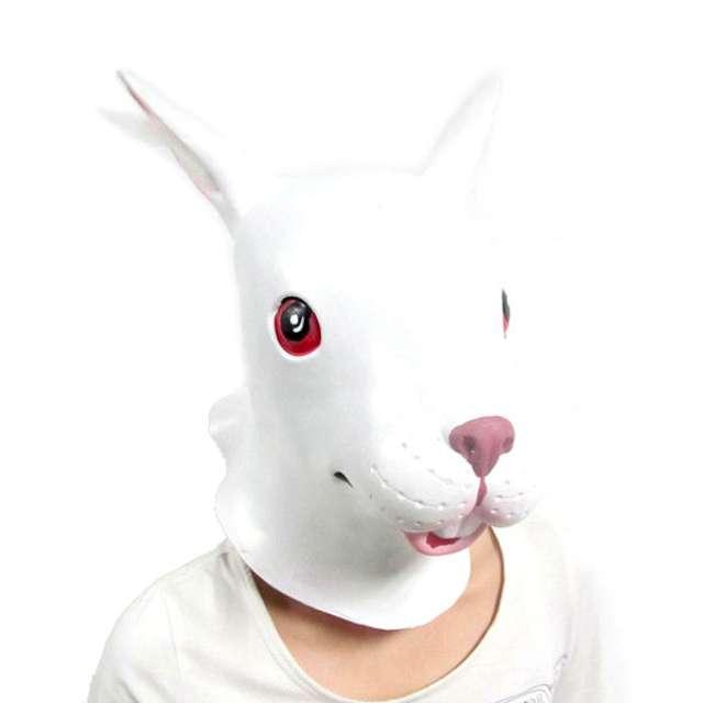 "Maska ""Królik"", lateksowa, GadgetMaster"