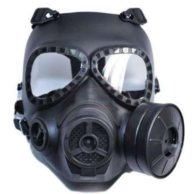 "Maska do gier ""Toxic protector"", czarna, GadgetMaster"