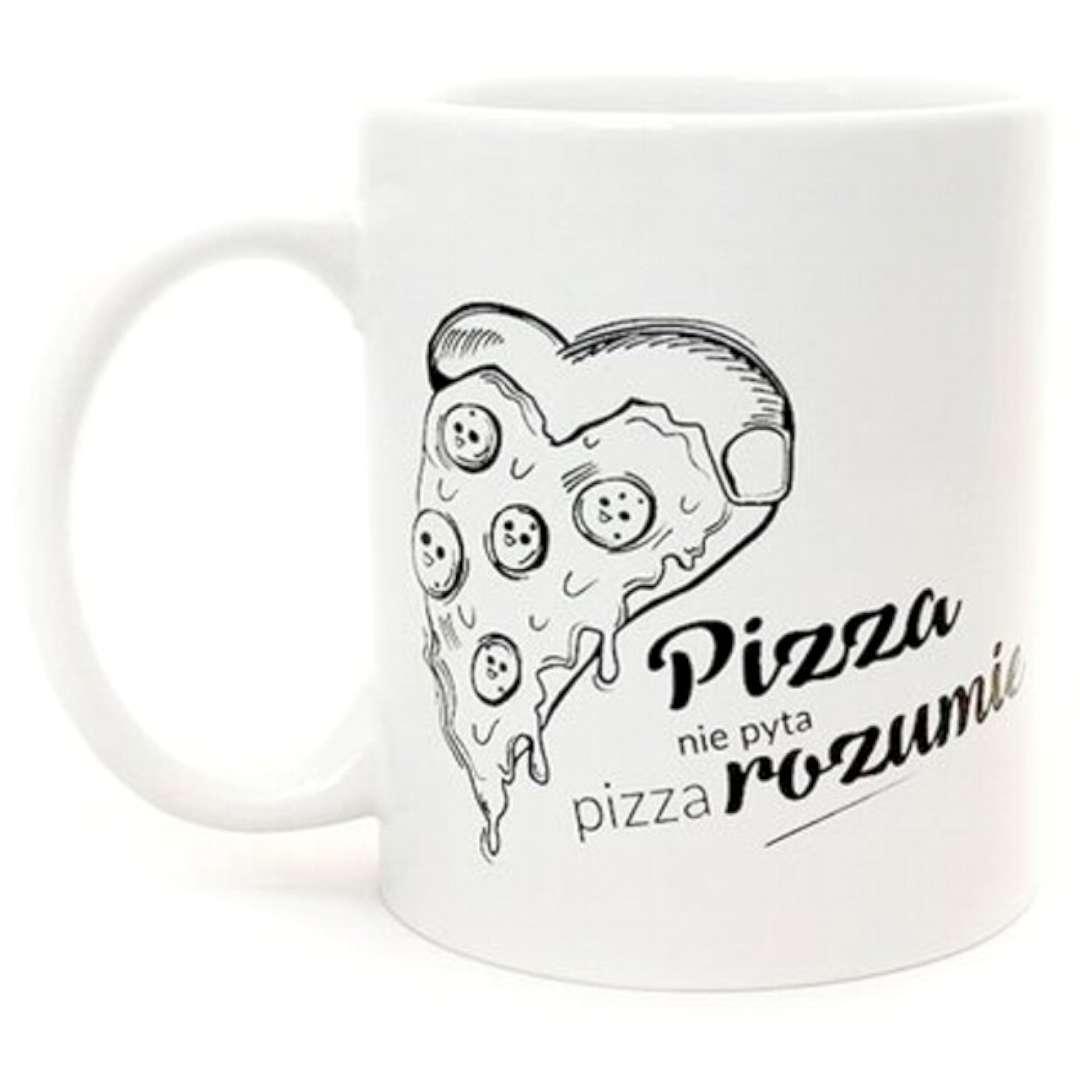 """Kubek """"Pizza rozumie"""", GadgetMaster"""