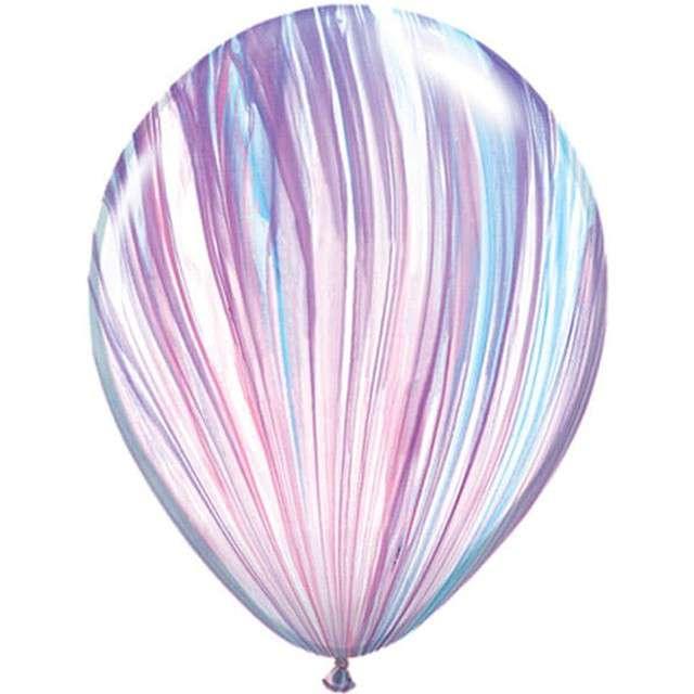 """Balony """"Agat"""", pastel mix, QUALATEX, 11"""", 25 szt"""