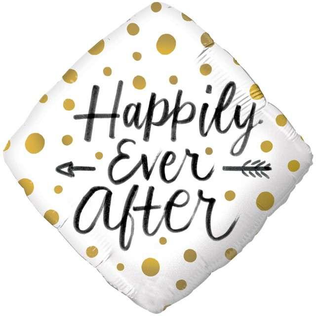 "Balon foliowy ""Happily Ever After"", Qualatex, 18"", DMZ"