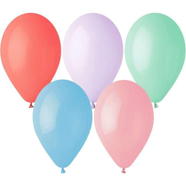 """Balony """"Pastel"""", Gemar, 12"""", 100 szt."""