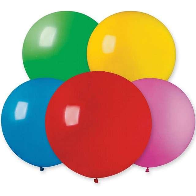 Balon olbrzym Classic pastel mix Gemar 100cm 10szt.