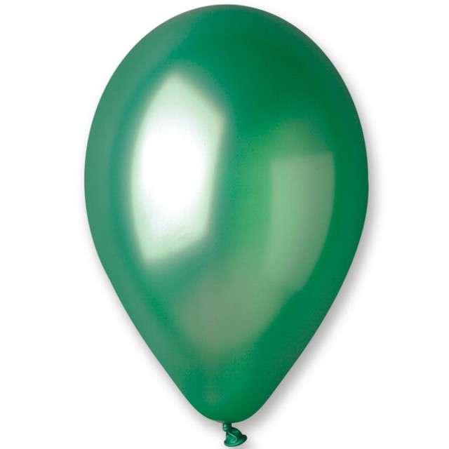 "Balony ""Metallic"", zielony, Gemar, 12"", 100 szt"