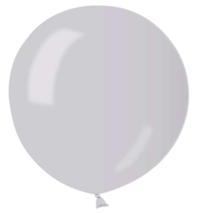 """Balon """"Kula Olbrzym"""", srebrna, Godan, 31"""""""