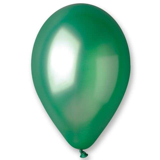 """Balony """"Classic"""", zielony metalik, GEMAR, 10"""", 100 szt"""
