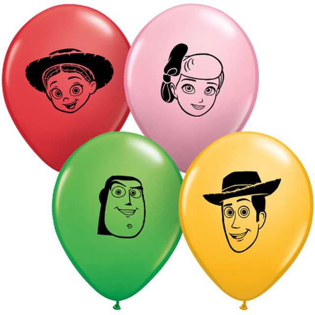 Balony Toy Story 4  Qualatex 5 100szt.