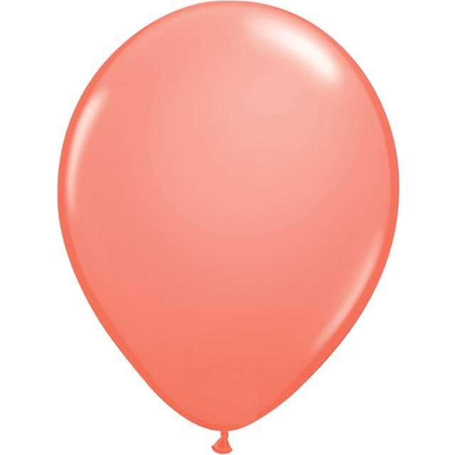 """Balony """"Classic"""", koralowy pastel, QUALATEX, 5"""", 100 szt"""