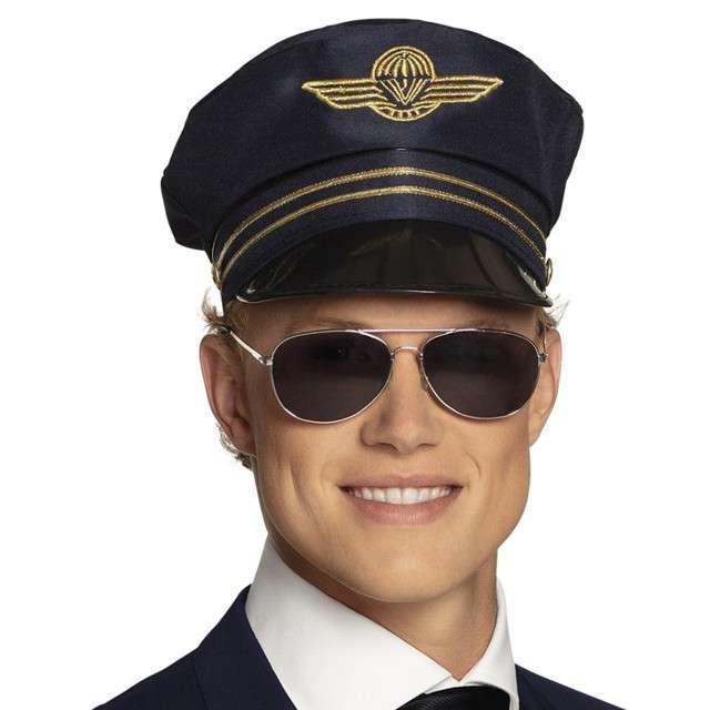 "Czapka ""Pilot samolotu"", granatowa, Boland"