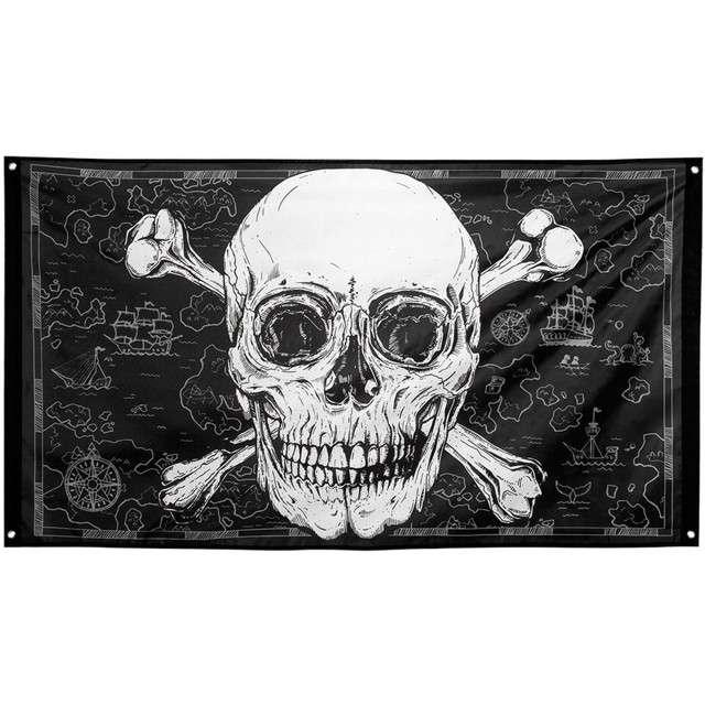 """Dekoracja """"Flaga Piracka"""", Boland, 90 x 150 cm"""