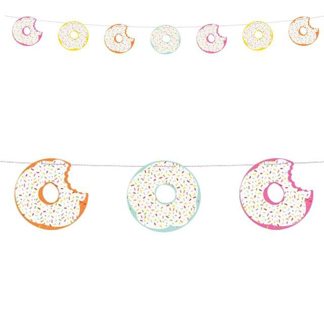 "Baner ""Donut Party"", mix, Unique, 213 cm"