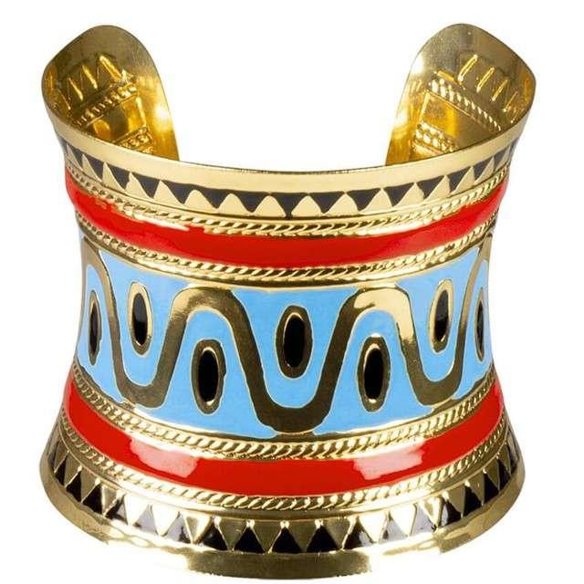 """Bransoletka """"Królowa Nilu"""", złota, Boland"""