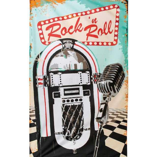 "Flaga ""Rock n Roll - Maszyna Grająca"", Boland, 150 x 90 cm"