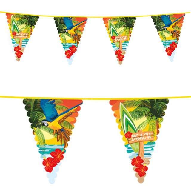 Baner flagi Hawajska Plaża Boland 6 m