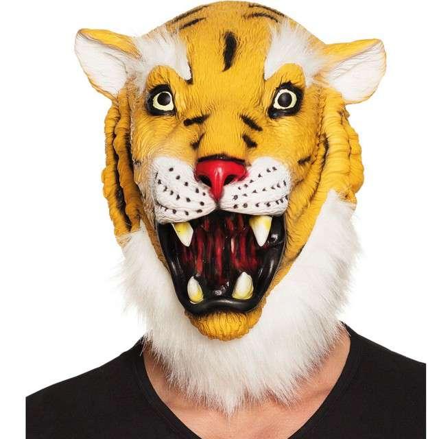 """Maska """"Tygrys"""", lateksowa, Boland"""