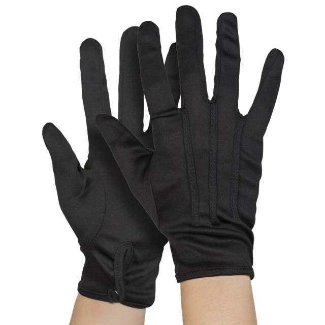"""Rękawiczki """"Eleganckie z guziczkiem"""", czarne, Boland"""