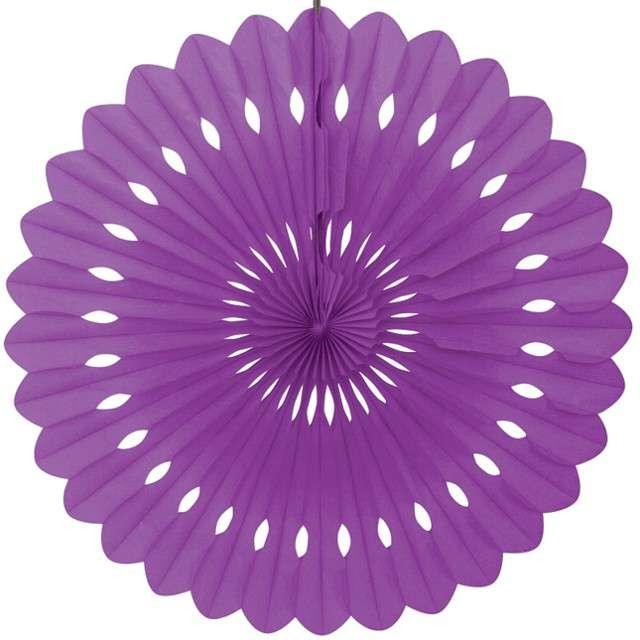 """Rozeta wisząca """"Classic"""", fioletowa , Unique, 40 cm"""