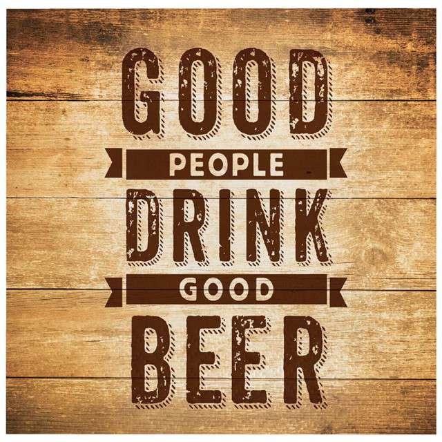 "Serwetki ""Cheers and Beers"", CreativeConverting, 33 cm, 16 szt"