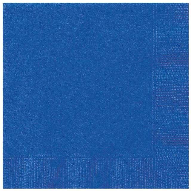 """Serwetki """"Neonowe"""", niebieskie, Godan, 33 cm, 20 szt"""