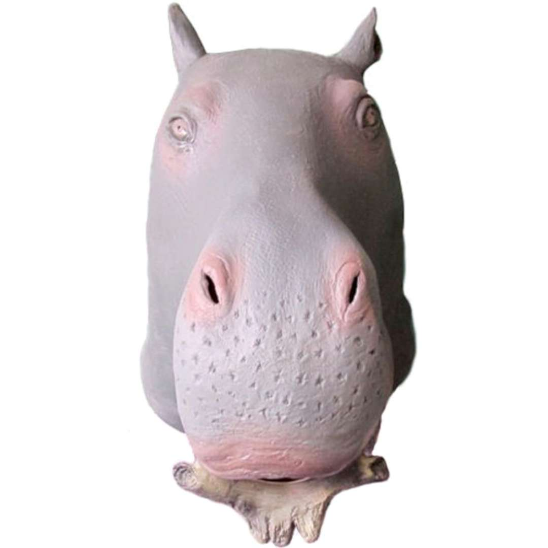 "Maska ""Hipopotam"", lateksowa, GadgetMaster"