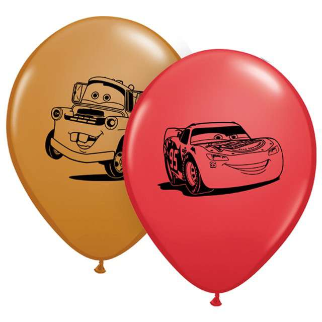 Balony Auta Qualatex 5 100szt.