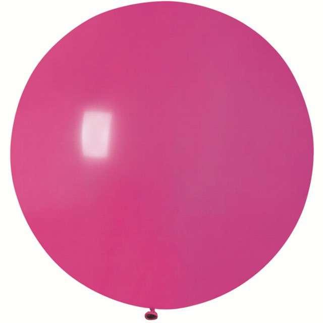Balon Olbrzym różowy ciemny pastel Gemar 75cm