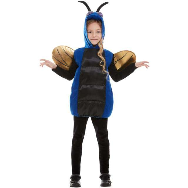 Strój dla dziecka Owad niebiesko-czarny Smiffys rozm. ML