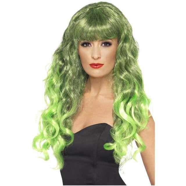 """Peruka party """"Syrena"""", zielona, Smiffys"""