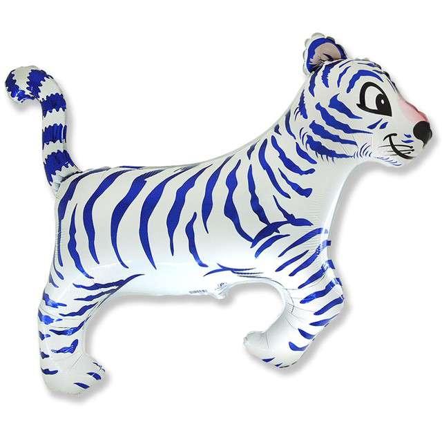 _xx_Balon foliowy 24 FX - Tygrys (biały) KK