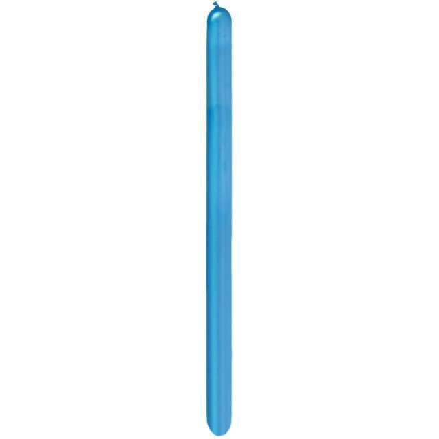 _xx_Balon QL modelina 260 chrom niebieski / 100 szt.