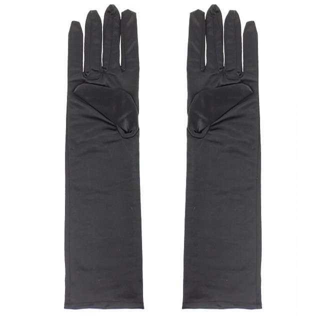 """Rękawiczki """"Wieczorowe - Długie"""", czarne, Godan, 38 cm"""