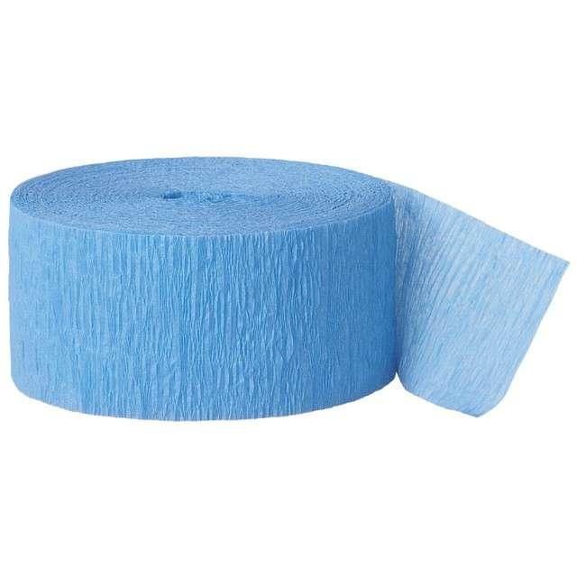 _xx_Wstążka z krepiny błękitna dł. 24.6 m