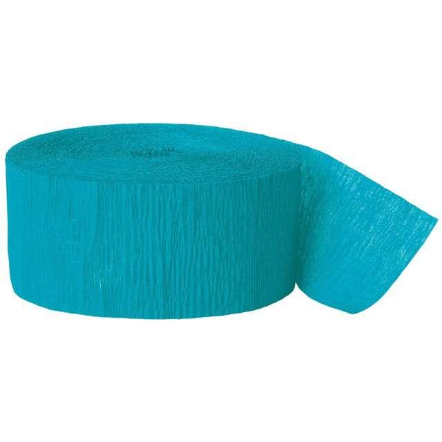 _xx_Wstążka z krepiny turkusowoniebieski dł. 24.6 m