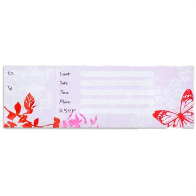 _xx_Zestaw 10 zaproszeń Różowy pejzaż KK