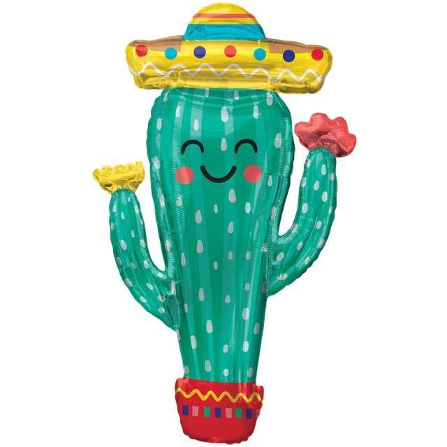 _xx_Supershape Fiesta Cactus Foil Balloon P35 pac