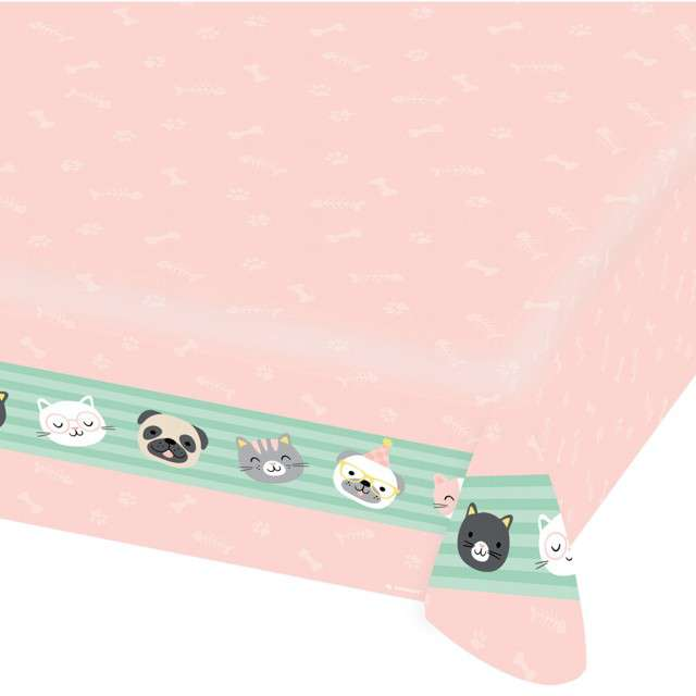 _xx_Tablecover Hello Pets Paper 115 x 175 cm