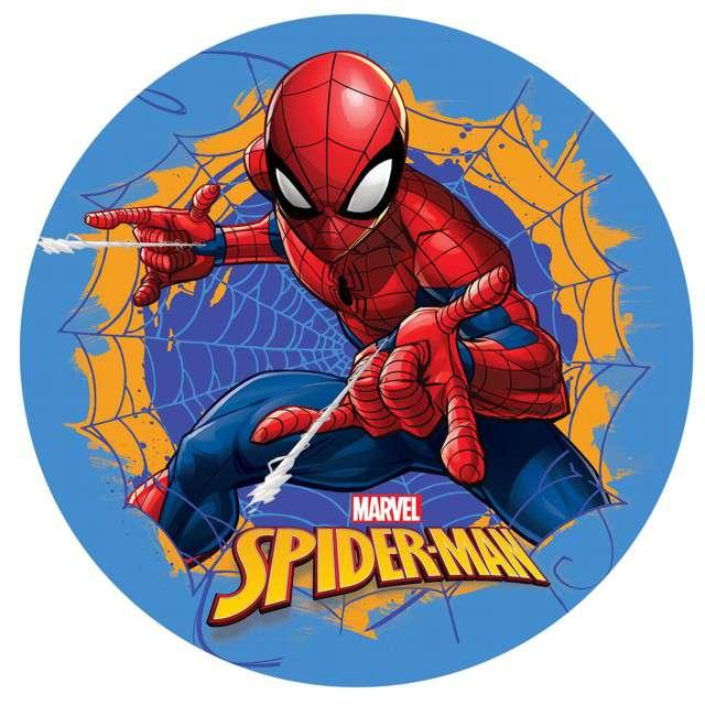 "Dekoracja tortu - opłatek bc ""Spiderman"", 20 cm, Dekora"