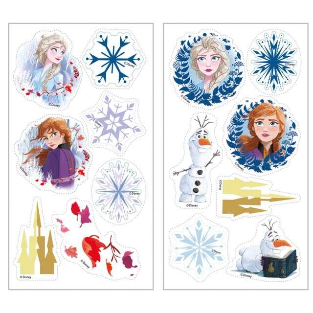 """Dekoracja cukiernicza """"Frozen - Kraina Lodu"""", Dekora, 14 szt"""