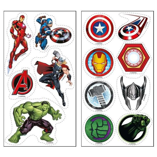 Dekoracja cukiernicza Avengers Dekora 13szt