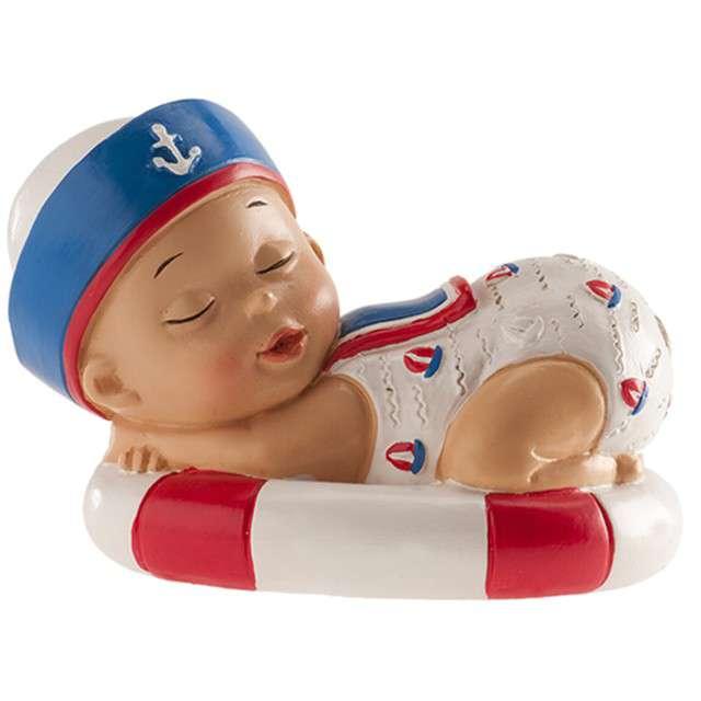 """Figurka na tort """"Chrzest Śpiący chłopczyk"""", Dekora, 10 cm"""