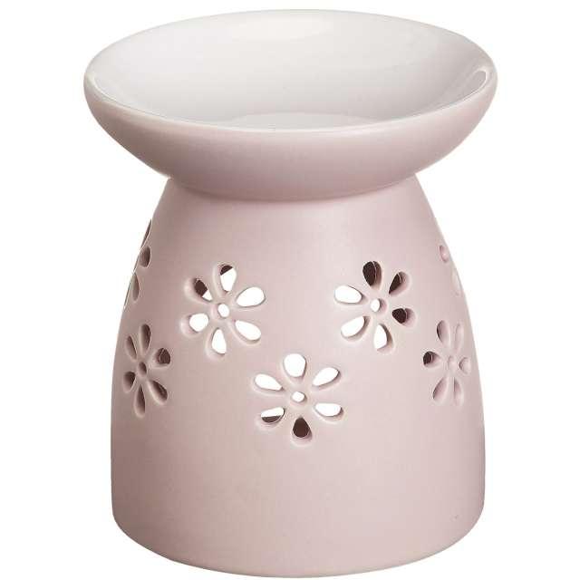 """Kominek ceramiczny """"Creations - Basic"""", różowy jasny, Bolsius"""