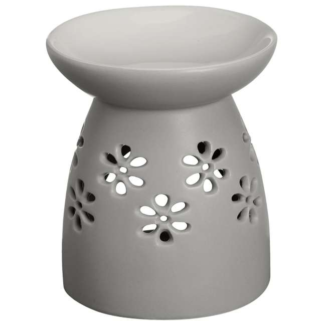 "Kominek ceramiczny ""Creations - Basic"", szary jasny, Bolsius"