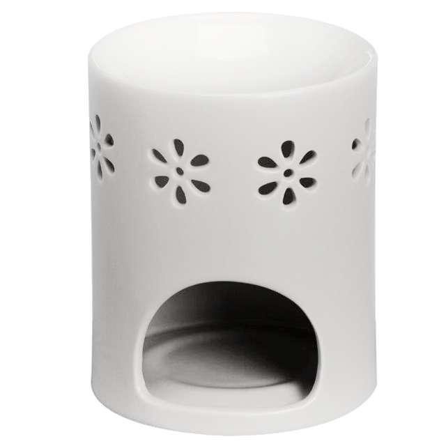 """Kominek ceramiczny """"Creations - Round"""", biały, Bolsius"""
