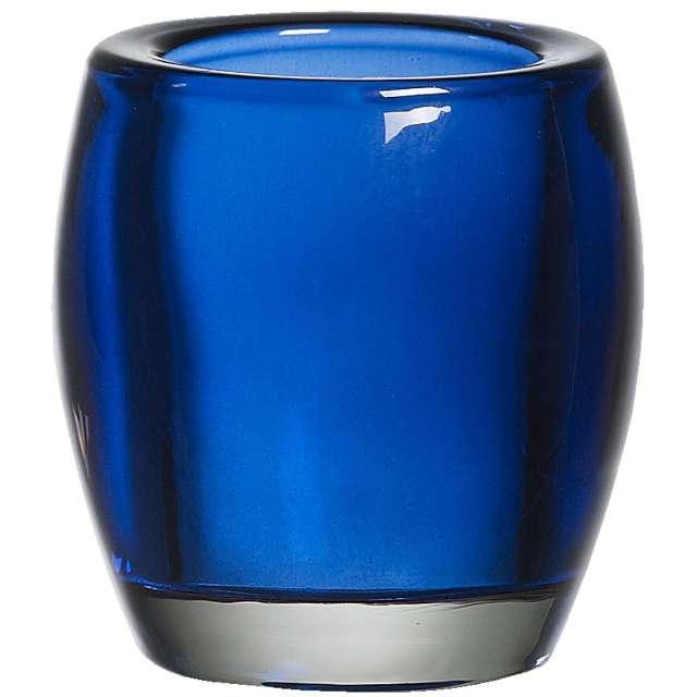 "Świecznik ""Classic Tealight"", niebieski ciemny, Bolsius, 77/72"