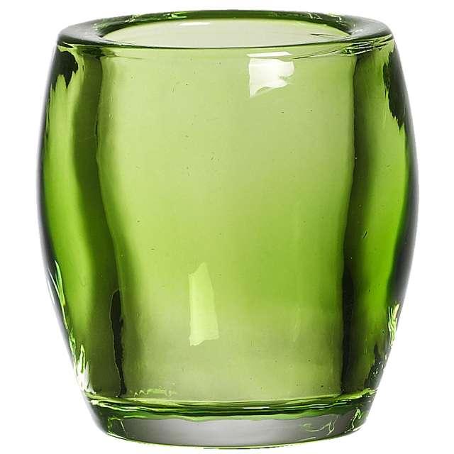 """Świecznik """"Classic Tealight"""", zielony limonkowy, Bolsius, 77/72"""