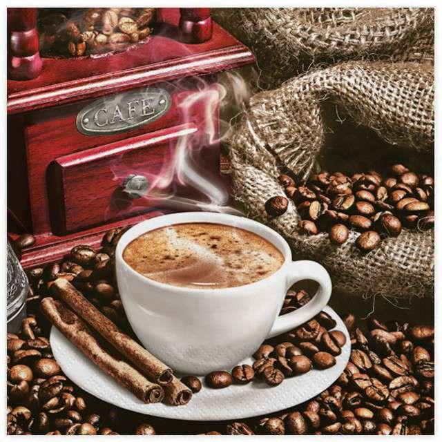 Serwetki Aromatyczna kawa MAKI 33cm 20szt