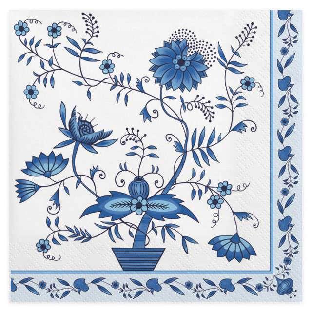 """Serwetki """"Niebieska cebula"""", MAKI, 33 cm, 20 szt"""