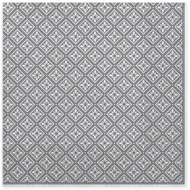 """Serwetki """"Geometryczne elementy"""", srebrne, MAKI, 33 cm, 20 szt"""